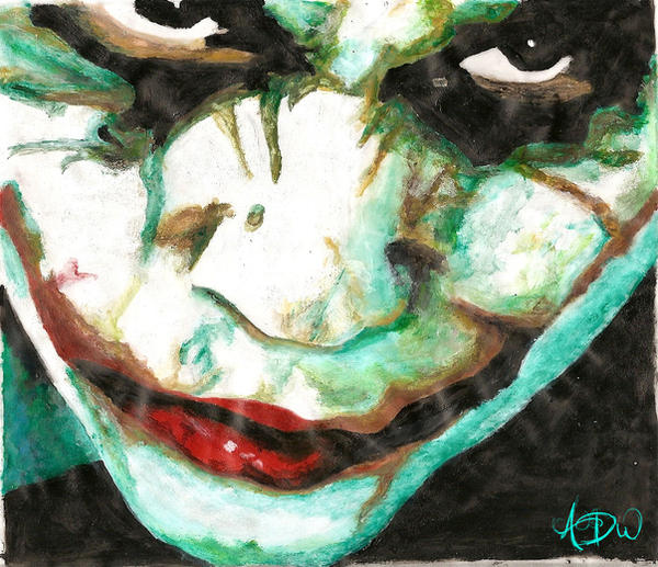 The Joker Acrylic Painting