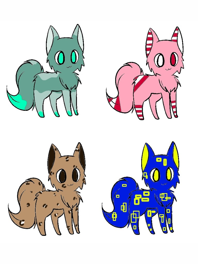 FREE ADOPTABLES [Closed] by Julia-adopts