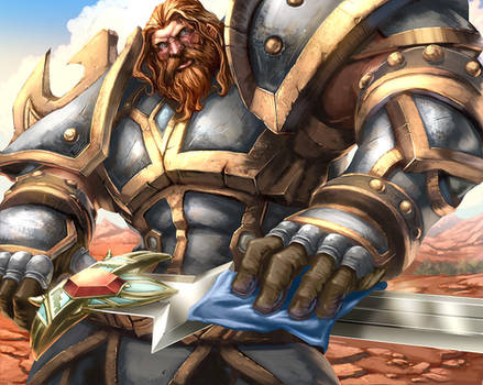 WoW TCG - Andiss Butcherson