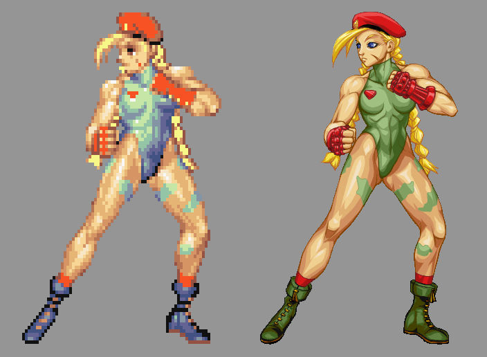 Street Fighter HD - Cammy by UdonCrew