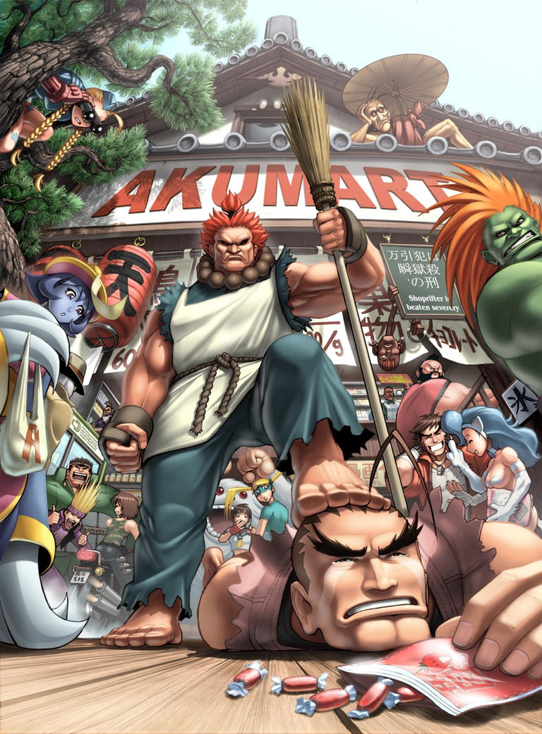 UDON's Art of Capcom Cover 2 by UdonCrew