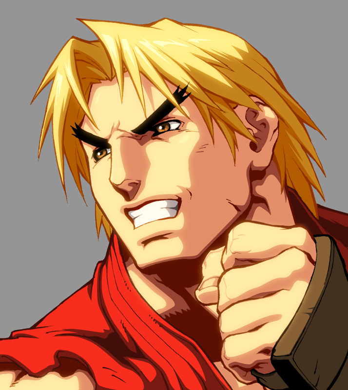 Character Select- Ken by UdonCrew on DeviantArt