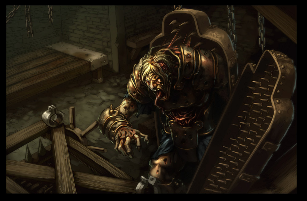 Pathfinder- Torture Chamber by UdonCrew