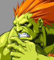 Character Select- Blanka by UdonCrew