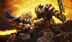 TPop-Blizz Warcraft Promo by UdonCrew