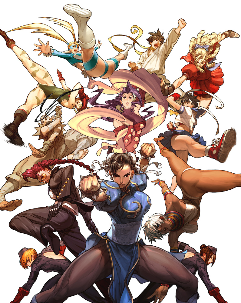 Street Fighter Tribute Cover