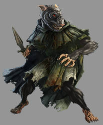 DnD4e: Wererat by UdonCrew