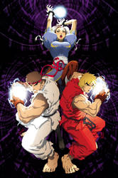 Street Fighter- Artist Team-Up