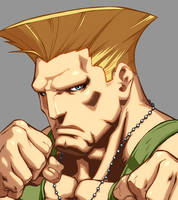 Character Select- Guile by UdonCrew