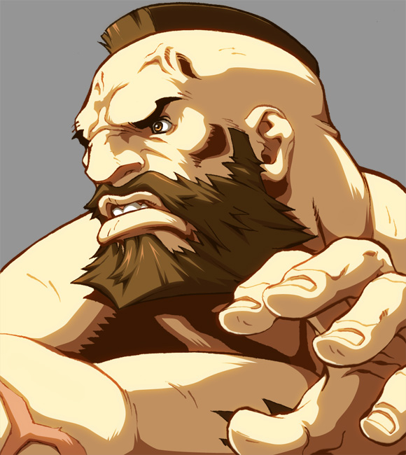 Character Select- Zangief by UdonCrew