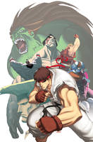 Street Fighter II Turbo 1a by UdonCrew