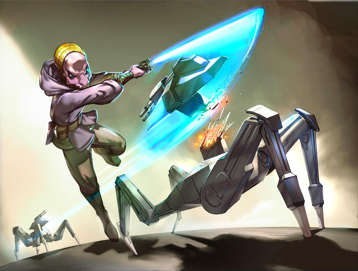 KoTOR- Draethos Jedi by UdonCrew