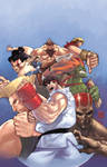 Street Fighter 2 Cover
