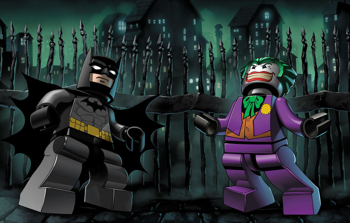 LEGO Batman Cover by UdonCrew
