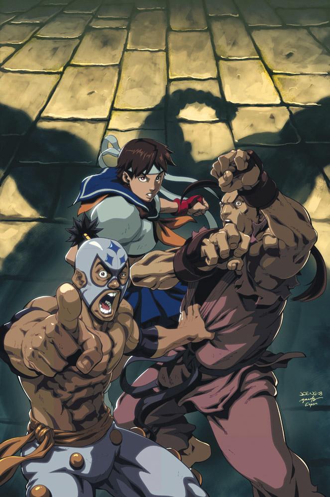 Street Fighter IV 2B