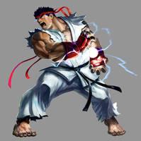 Marvel VS Capcom 2: Ryu by UdonCrew