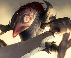 MtG Online- Murderous Redcap by UdonCrew