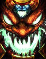 Darkstalkers Tribute- Vriens by UdonCrew