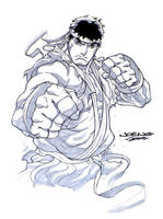 SDCC09- Ryu by UdonCrew