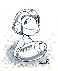 SDCC09- Mega Man by UdonCrew