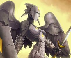 MtG Online- Platinum Angel by UdonCrew