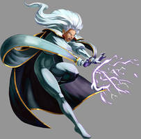 Marvel VS Capcom 2: Storm