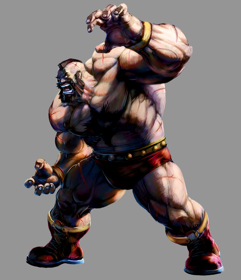 Marvel VS Capcom 2: Zangief by UdonCrew
