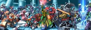 G.I.Joe vs Transformers by UdonCrew