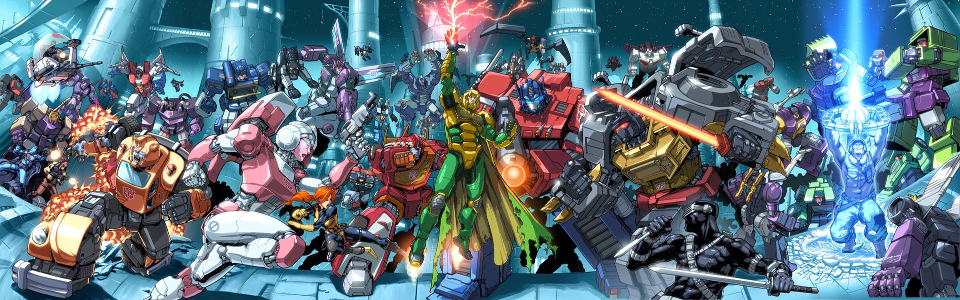 GI Joe V Transformers