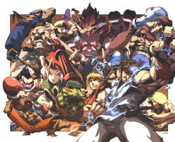 Street Fighter II 0 Cover by UdonCrew