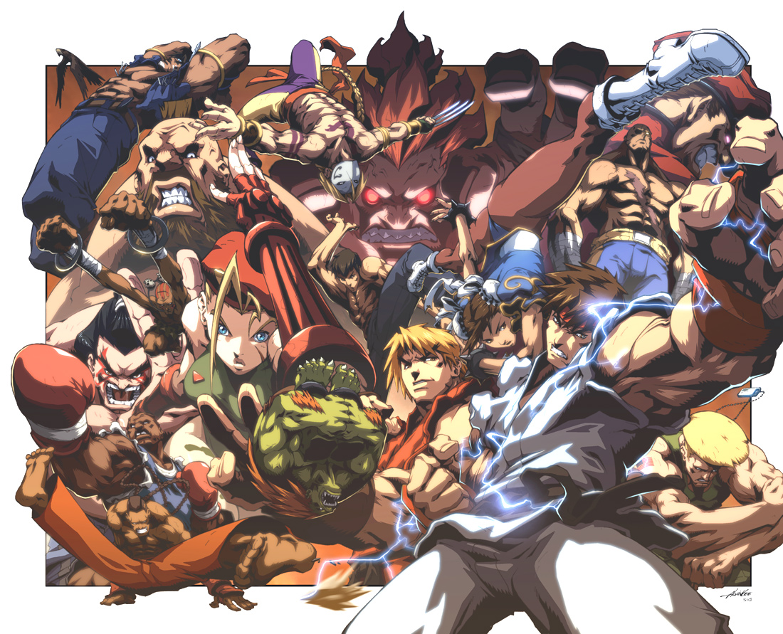 Street Fighter II 0 Cover