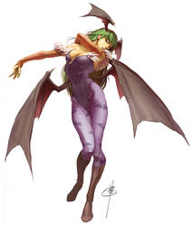 Morrigan by UdonCrew