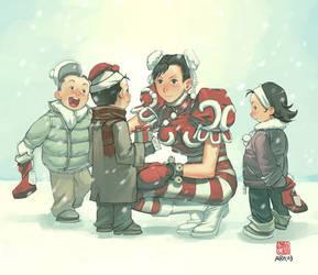 Street Fighter Christmas