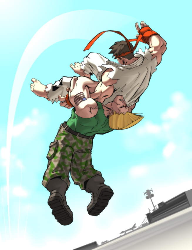 UFS - Mid Air German Suplex by UdonCrew