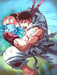 UFS - Ryu Character Card