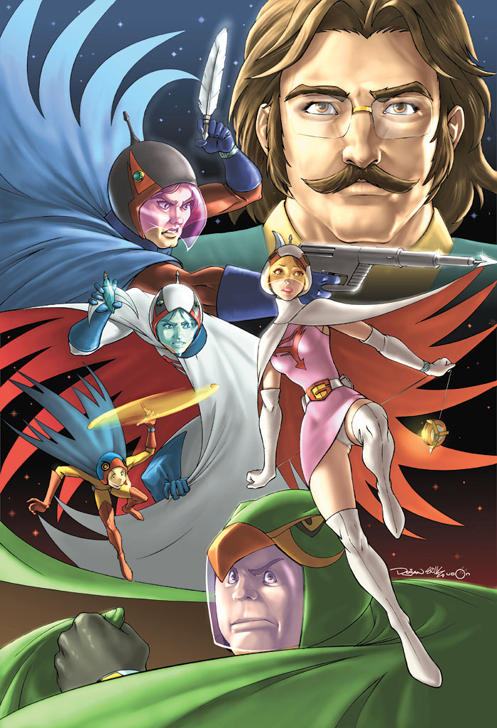 G Force Anime Characters : Battle of the planets cover by udoncrew on deviantart