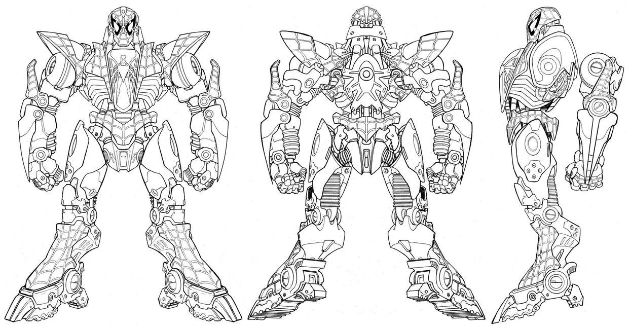Marvel Megamorph - Spider-Man by UdonCrew