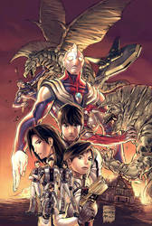 Ultraman Tiga by UdonCrew