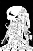 Agent-X Issue 2 Line Art by UdonCrew