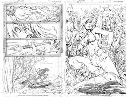 SNEAK PEEK Gen-13 Issue7 Pages by UdonCrew