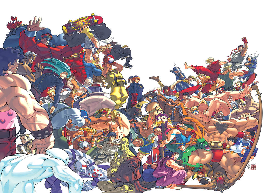Street Fighter 1 Cover by UdonCrew