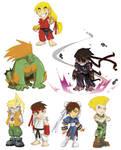 SD Street Fighter 1