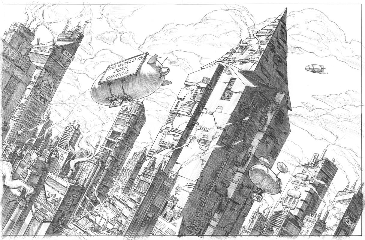 Cyberpunk City by UdonCrew on DeviantArt