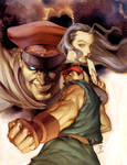 Street Fighter Trade 3 Cover