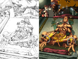 Street Fighter II issue 1 pg5 by UdonCrew