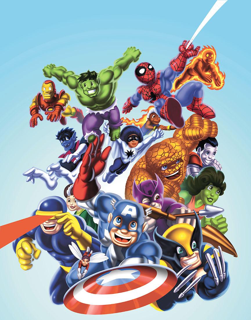 Fantastic Wallpaper Marvel Secret Wars - secret_wars_for_preschoolers_by_udoncrew  Image_889743.jpg