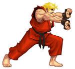 Street Fighter HD - Ken Sample