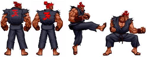 Street Fighter HD - Akuma Test