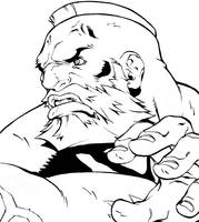 Street Fighter HD - Zangief by UdonCrew