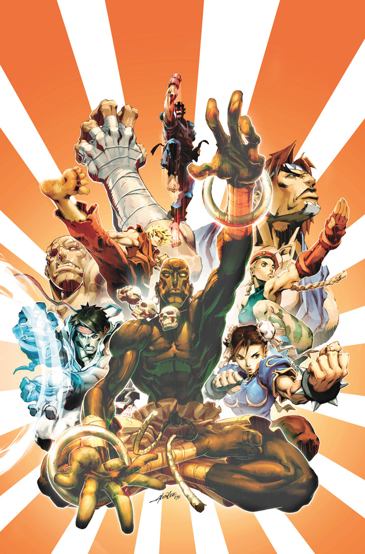 Street Fighter II 2 Cover by UdonCrew